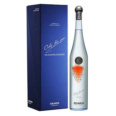 Zearis Chacha Luxury Grape Vodka 'Only For You' 750ml Gift Box+Bag+Free ship