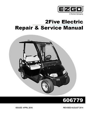 ez go e z go 2016 2017 rxv electric freedom golf car service manual rh picclick com Ezgo Golf Cart Bodies Ezgo Golf Cart Bodies