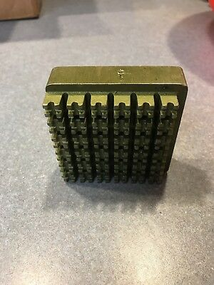 Hobart Power Dicer Attachment Grid plate assy. 1/4""