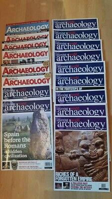 Bundle Of Current World Archaeology Magazines - 15 In Total