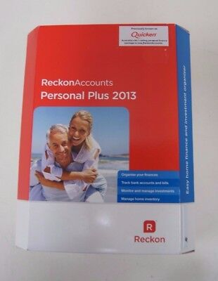 Reckon Accounts Personal Plus 2013