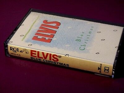 Blue Christmas - 1989 BMG - Elvis' Presley Christmas Album Cassette Tape