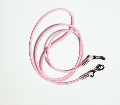 Pink waxed cord  Spectacle Sunglasses eye glasses Chain  lanyard strap string