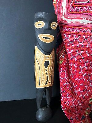 Old Australian Aboriginal Tiwi Islands Carved Man  …a beautiful collection..