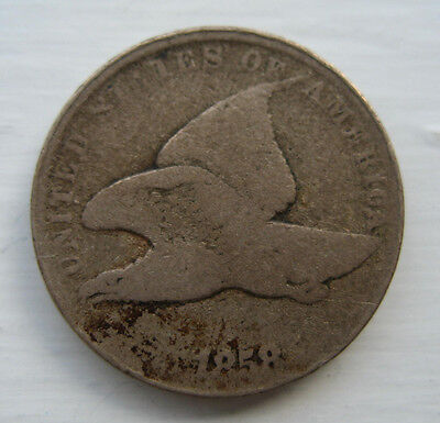 1858 Flying Eagle Penny US One Cent *  great starter coin for your collection