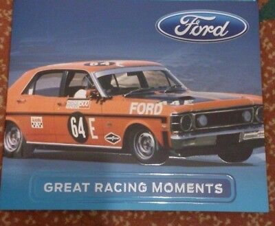 2017 Ford Australian Great Racing Stamp Pack Collection