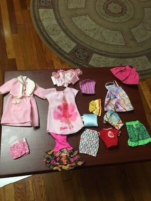 Barbie Doll Clothes Tagged Lot #12