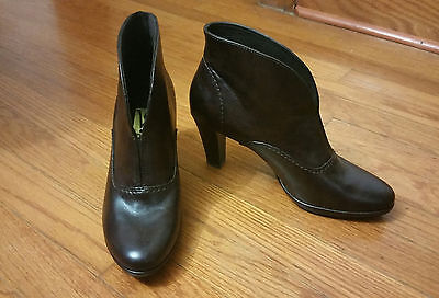 Victoria Spencer Size 8M Brown (Boots)