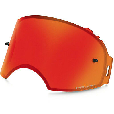 Oakley Airbrake MX NEW Tinted Red Fire Torch Prizm Goggle Replacement Lens