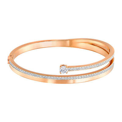 NEW Swarovski Fresh Rose Gold Bangle