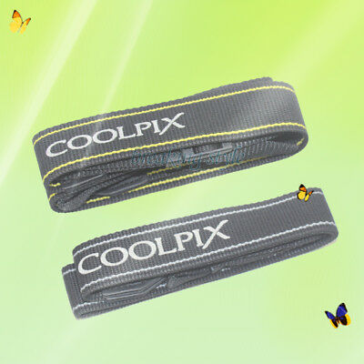 Genuine Original Nikon Neck Shoulder Strap for CoolPix Digital Camera Belt P6000