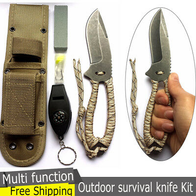 New 13 in 1 Multi Function Camping Outdoor Survival Fishing Tactical Train Knife