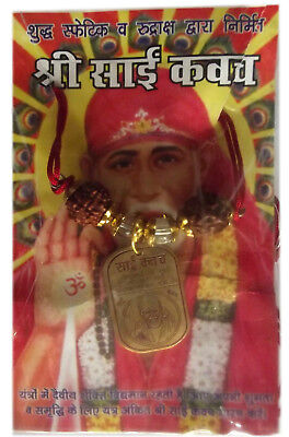 SIDHA SAI BABA KAWACH made from 8 metals(RS EHS)