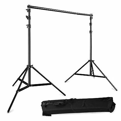 BPS Adjustable 3x2.8m(10ft*9ft) Pro Portable Heavy-Duty Backdrop Support Syst...