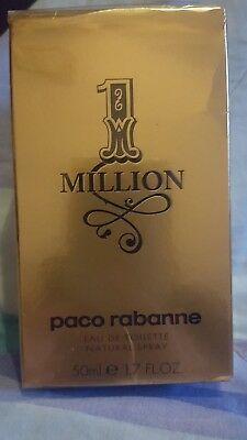 1 Million von Paco Rabanne Eau de Toilette Spray 50ml für Herren