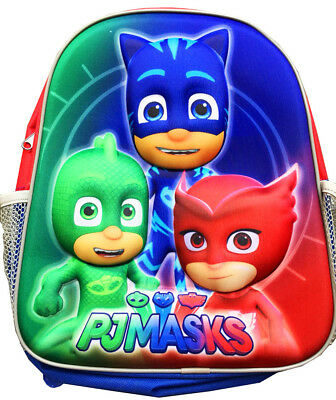 New Small 3D Kids Backpack Pj Mask Boys Girls School Bags Children Gift Picnic