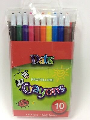 Propelling crayons 10 pc