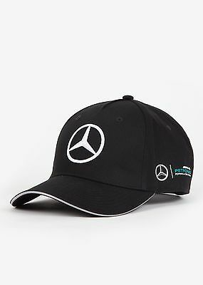 2017 OFFICIAL F1 Mercedes AMG Petronas TEAM Cap Hat BLACK – NEW