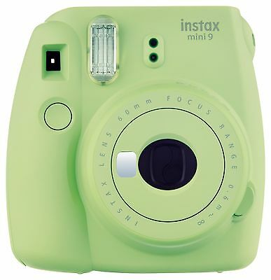 Camera Snapshot FujiFilm Fuji Instax Mini 9 Lime Green
