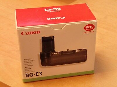 Canon BG-E3 Battery Grip For Eos 350D & 400D EXCELLENT BOXED