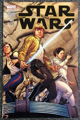 Star Wars #1 (2015) Quesada Wrap-round 1:100 Cover Variant