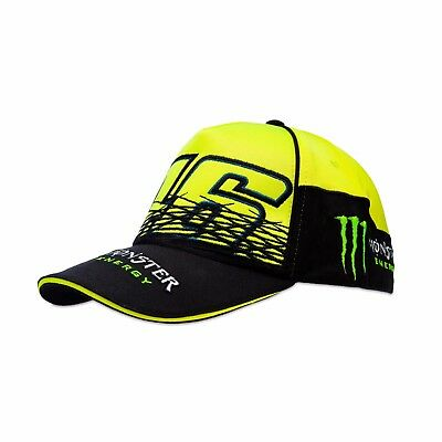 Vr46 Official Valentino Rossi Monster Energy Monza Replica Adjustable Cap - New
