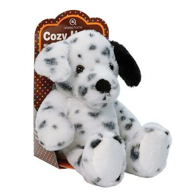 Aroma Home Cozy Hottie Soft Lavender Fragranced Microwavable Dalmatian Toy