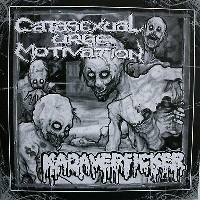"CATASEXUAL URGE MOTIVATION / KADAVERF*CKER spl 7"" regurgitate,exhumed,warsore"