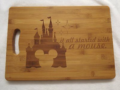 It all started with a mouse disney inspired chopping board Mickey Mouse