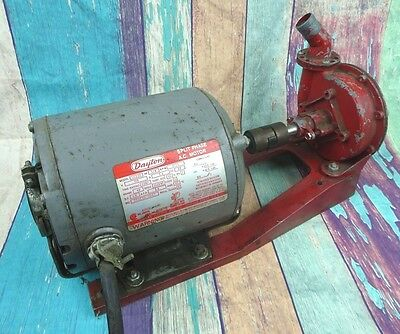 Vtg LABAWCO Water Pump with DAYTON Motor 1/4 HP 115 Volt Model 5K911B WORKS USA