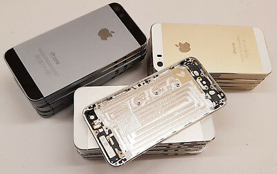 iPhone 5S EMPTY REPLACEMENT HOUSING CASING CASE CHASSIS GOLD SPACE GREY SILVER