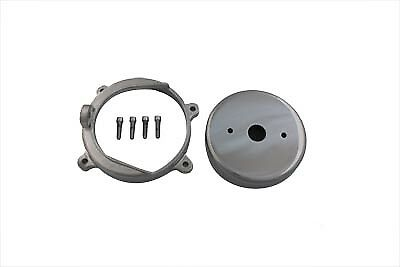 Belt Drive Alternator Cover Kit Chrome for Harley Replacement for Open Drive Bel