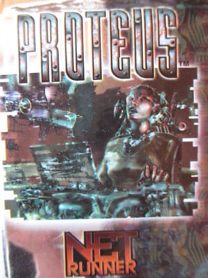 NetRunner PROTEUS 2.1 - Compl. set all 110 different C + UC Cards - ccg Garfield