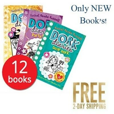 12 Books Collection Set Dork Diaries By Rachel Renee Russell Puppy Love, Etc.