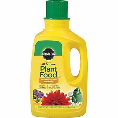 Miracle-Gro 1001502 All Purpose Liquid Plant Food Concentrate 32 Ounce