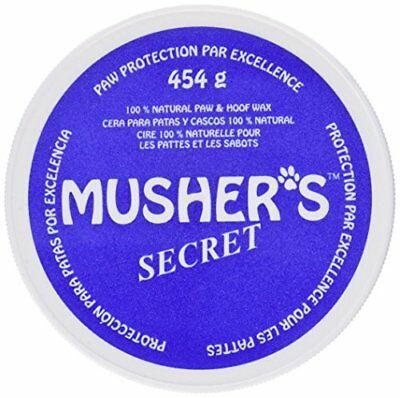 Musher's Secret Pet Paw Protection Wax 1-Pound