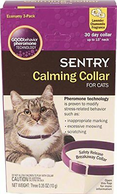 SENTRY Calming Collar for Cats 3 Count