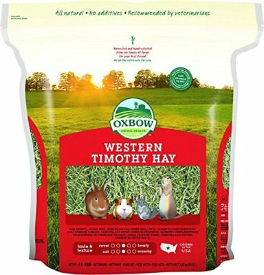 Oxbow Animal Health Western Timothy Hay for Pets 90-Ounce