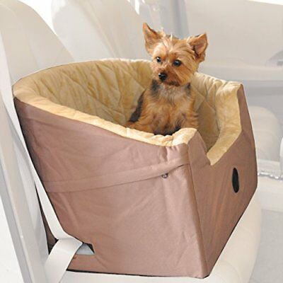 """K&H Pet Products Bucket Booster Pet Seat Small Tan 14.5"""" x 20"""""""