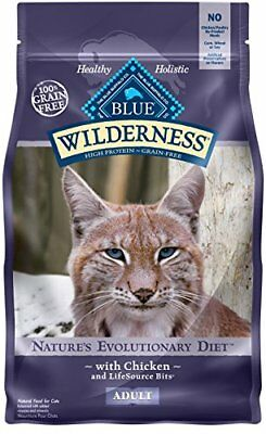 BLUE Wilderness Adult Grain Free Chicken Dry Cat Food 6-lb