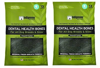 Indigenous Dental Health Bones Original Fresh Breath Flavor 17oz by Indigenous