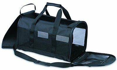 Petmate Soft-Sided Kennel Cab Pet CarrierBlackUp to 15lbs