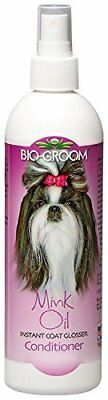 Bio-Groom Mink Oil Spray Conditioner for Cats and Dogs 12 oz.