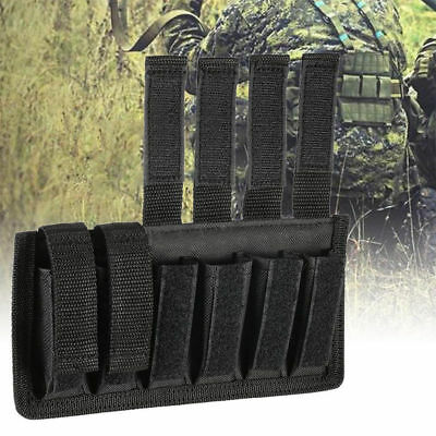 Black Six Single Pack Magazine Pouch 6 Pack Stacked Magazine Pouches Holster