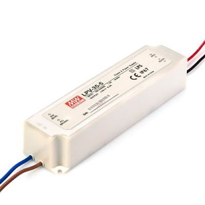 Alimentatore Switching Mw 60W 12V Dc 5A Ip67 Mean Well Lpv-60-12