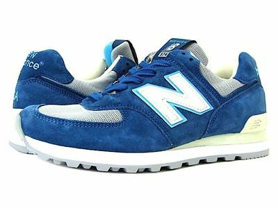New Balance M574BOX Men/'s Classics Core 574 Light Blue//Grey Made in USA