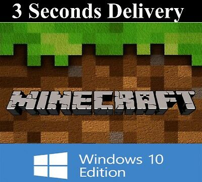 Minecraft Windows 10 Edition - FULL GAME - DIGITAL KEY CODE - FAST DELIVERY 24/7