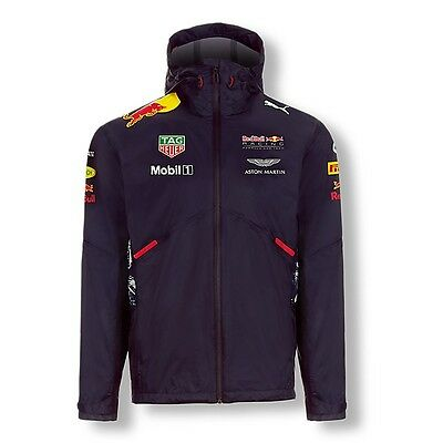 2017 OFFICIAL F1 Red Bull Racing Mens Team Rain Jacket Coat – NEW