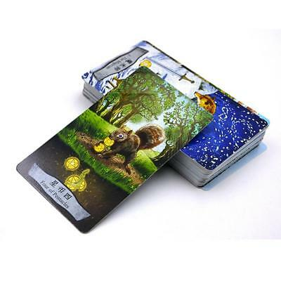 Animal Tarot Cards Board Game New Design Cards Chinese/English Edition Toy Tool