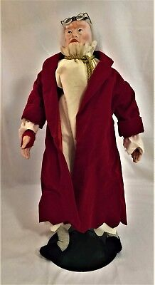 Department 56 'A Christmas Carol' Collectors Series Ebenezer Scrooge Doll